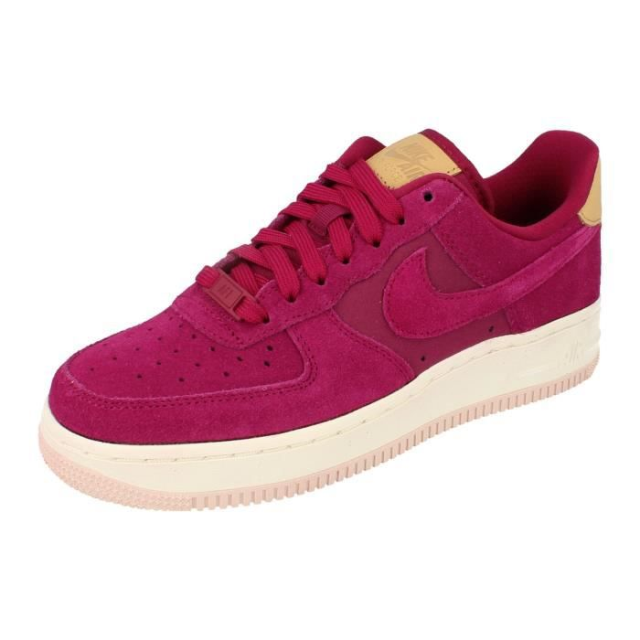 low priced 6c265 fef78 BASKET Nike Air Force 1 07 PRM Femme Trainers 896185 Snea
