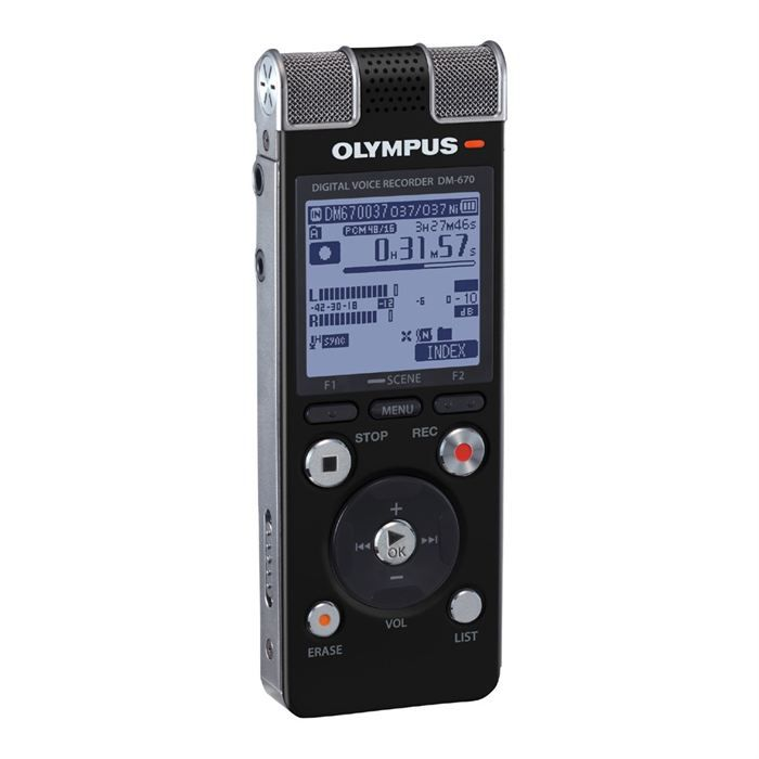 olympus dm 670 dictaphone magnetophone prix pas cher. Black Bedroom Furniture Sets. Home Design Ideas