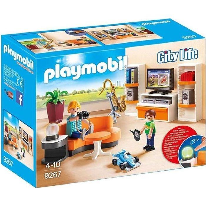 PLAYMOBIL 9267 - La Maison Moderne - Salon Équipé