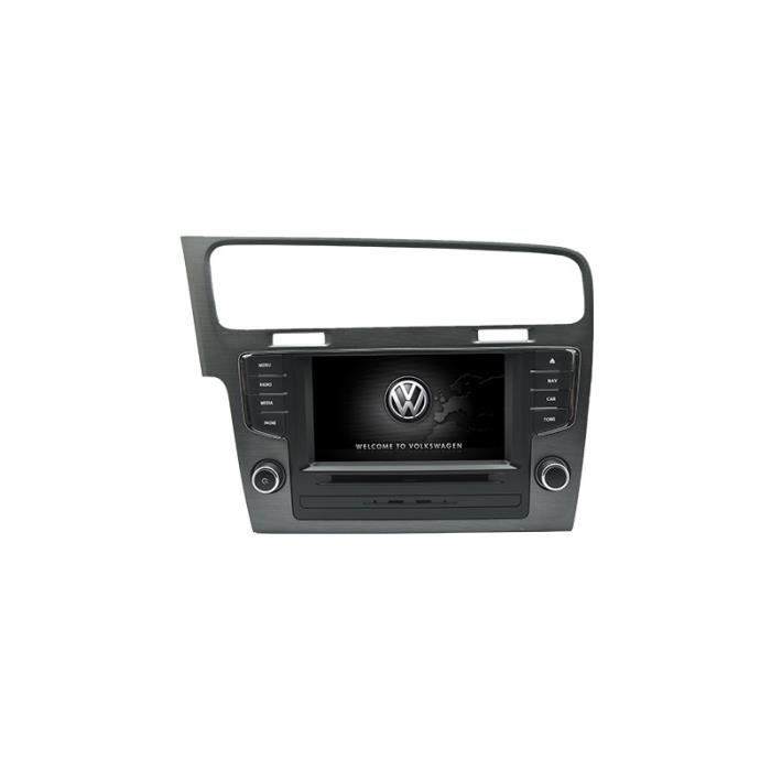 autoradio gps bluetooth pour volkswagen golf 7 achat vente autoradio autoradio gps bluetooth. Black Bedroom Furniture Sets. Home Design Ideas