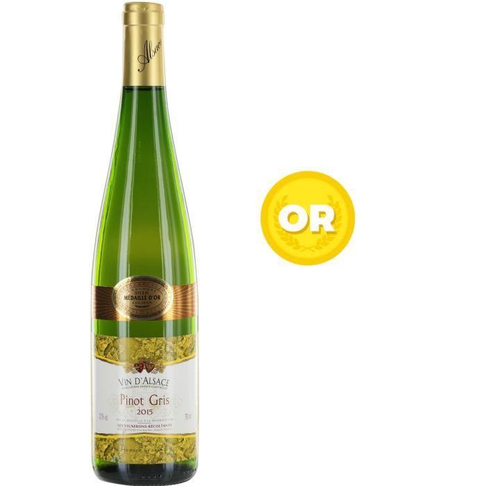 VIN BLANC Pinot Gris - Vin blanc d'Alsace