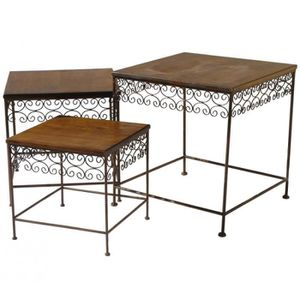 table appoint fer achat vente table appoint fer pas. Black Bedroom Furniture Sets. Home Design Ideas