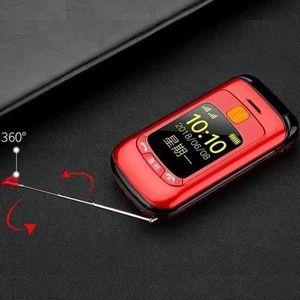 TELEPHONE PORTABLE SENIOR Téléphone grosses touches mobile sénior à clapet -