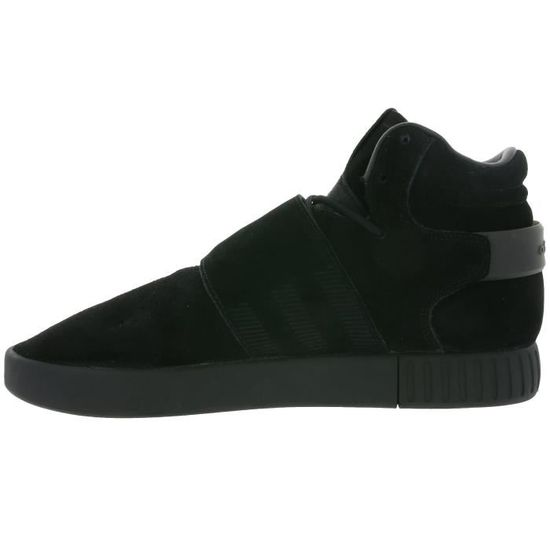 adidas Originals Tubular Invader Strap Hommes Noir Formateurs BY3632