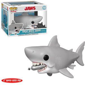 FIGURINE DE JEU Figurine Funko Pop! Movies: Jaws - Requin avec bou