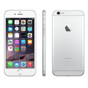 SMARTPHONE iPhone 6 128 Go Argent Reconditionné - Etat Correc
