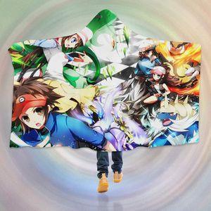 COUVERTURE - PLAID 3D  Hooded Blanket for Pokemon 8106   Couverture à