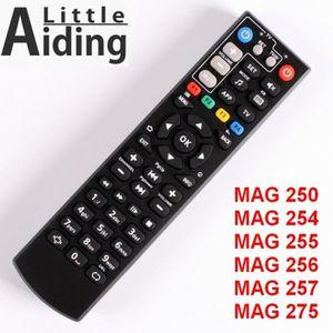 TÉLÉCOMMANDE TV Télécommande Pour Mag250 Mag254 Mag255 Mag 256 Mag