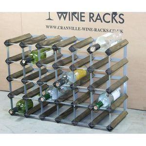 MEUBLE RANGE BOUTEILLE 30 bouteilles de vin Racks ( 6 x 4 ) Dimensions ap