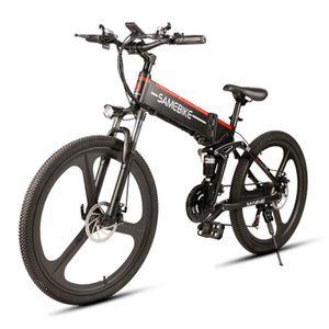 KIT VÉLO ÉLECTRIQUE Vélo Electrique Pliant Samebike LO26 350W 48V 10,4