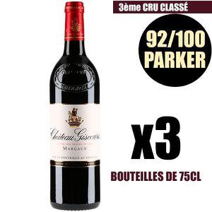 VIN ROUGE X3 Château Giscours 2011 75 cl AOC Margaux 3ème Cr