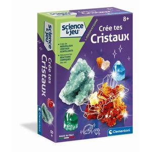 EXPÉRIENCE SCIENTIFIQUE CLEMENTONI Science & Jeu - Crée des cristaux - Jeu