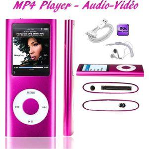LECTEUR MP4 Lecteur MP4  Audio Vidéo Player