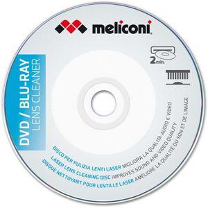 NETTOYAGE TV-VIDEO-SON MELICONI Disque nettoyant pour lecteur DVD et Blu