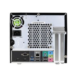 BAREBONES SHUTTLE XPC Cube SH110R4 - Barebone - Mini PC - So