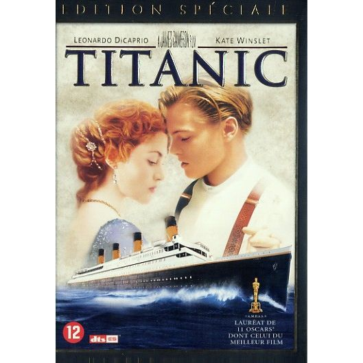 titanic achat vente dvd film titanic prix de folie 8712626019671 cdiscount. Black Bedroom Furniture Sets. Home Design Ideas