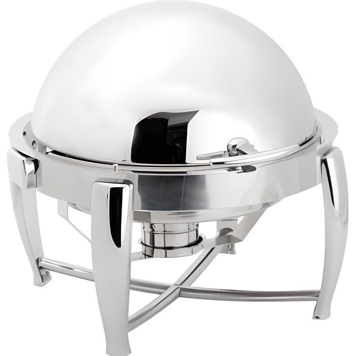 Chafing dish rond couvercle rabattable 180° - Atosa - - DAT51263
