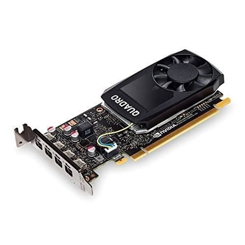 Pny Carte graphique Nvidia Quadro P1000 4 Go Gddr5 Pcie 3.0 x16 4 x Mini Displayport