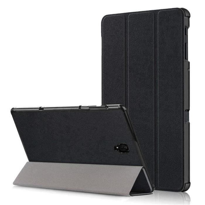 Étui pour Samsung Galaxy Tab A 10.5 2018 [SM-T590-T595-T597],Tablet Housse Etui,Stand de Cover Case avec Auto réveil-Sommeil ,Noir