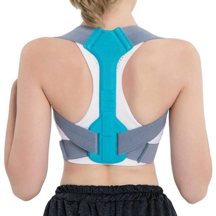 CEINTURE DE SOUTIEN Correcteur de posture pour femme, r&eacuteglable, correcteur de posture confortable pour le dos pour homme 254