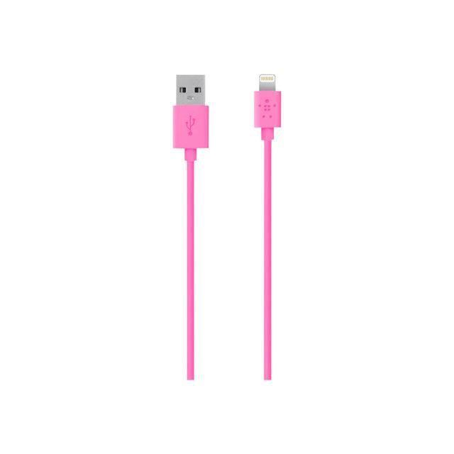 Belkin Câble Lightning Pink