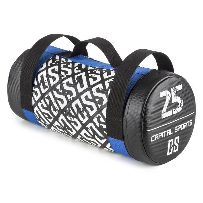 CAPITAL SPORTS Toughbag Power bag Sac de force lesté de sable 25kg - cuir synthétique