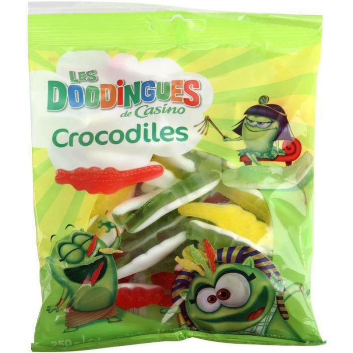 CASINO Les Doodingues Crocodiles 250g