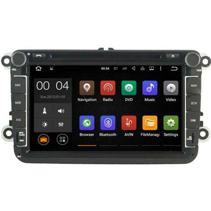 Autoradio Android GPS Volkswagen Golf 5, Golf 6, Beetle, Eos, Touran, T5, Tiguan, Polo, Caddy, Passat, Jetta, Amarok, Sharan