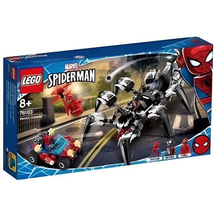 LEGO Marvel Super Heroes - 76163 Marvel Spider-Man Le Véhicule Araignée De Venom
