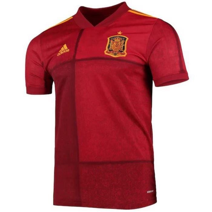 Nouveau Maillot de Football Garcon Adidas Espagne Euro 2020