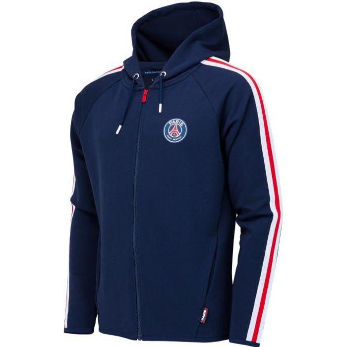 Veste Sweat zippé à capuche PSG - Collection officielle PARIS SAINT GERMAIN - Enfant