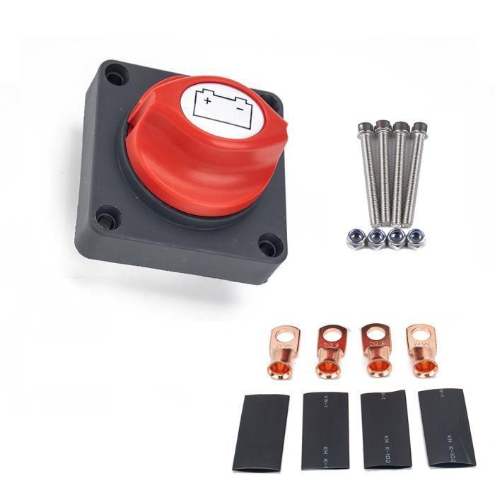 500A batterie Marche - Arrêt Déconnecter Interrupteur étanche Heavy Duty batterie Isolateur Commutateur avec câblage Set