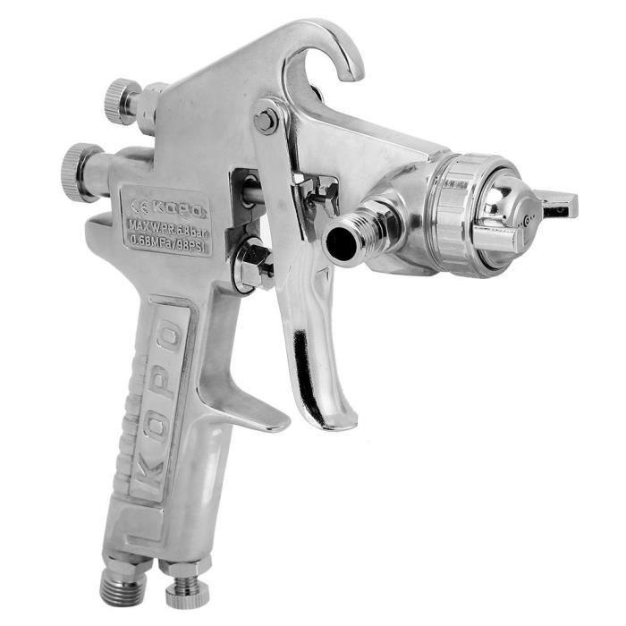 Type De Gravité De Pistolet De Pulvérisation De Peinture Pneumatique De Pistolet De Peinture Pneumatique Kp 430g 1 5mm Koe