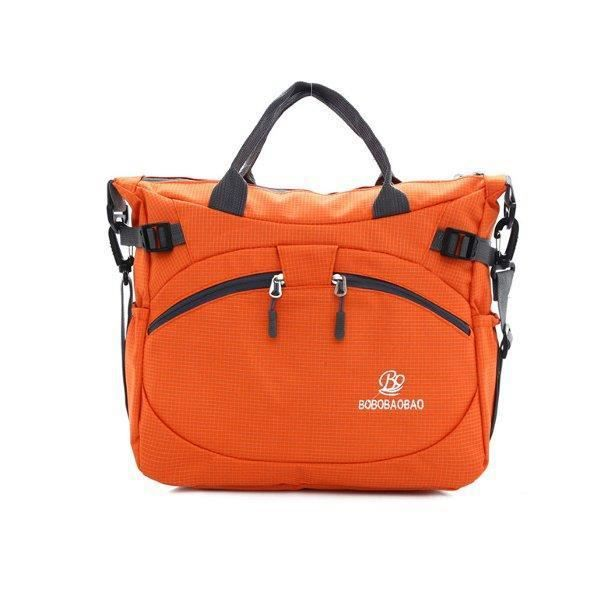 SBBKO4510Femmes hommes en plein air sacs à main en nylon sacs à bandoulière imperméable occasionnels Crossbody Orange