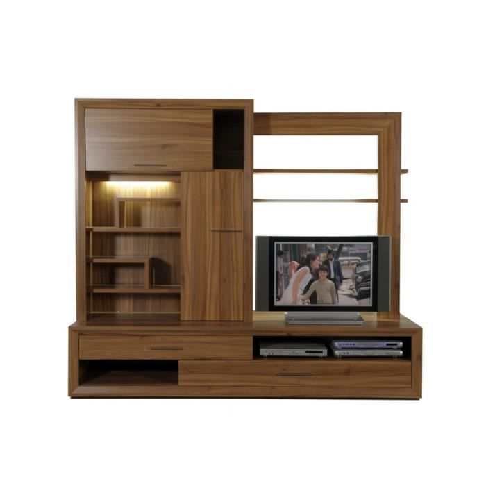 ensemble meuble tv woody achat vente meuble tv ensemble meuble tv woody cdiscount. Black Bedroom Furniture Sets. Home Design Ideas