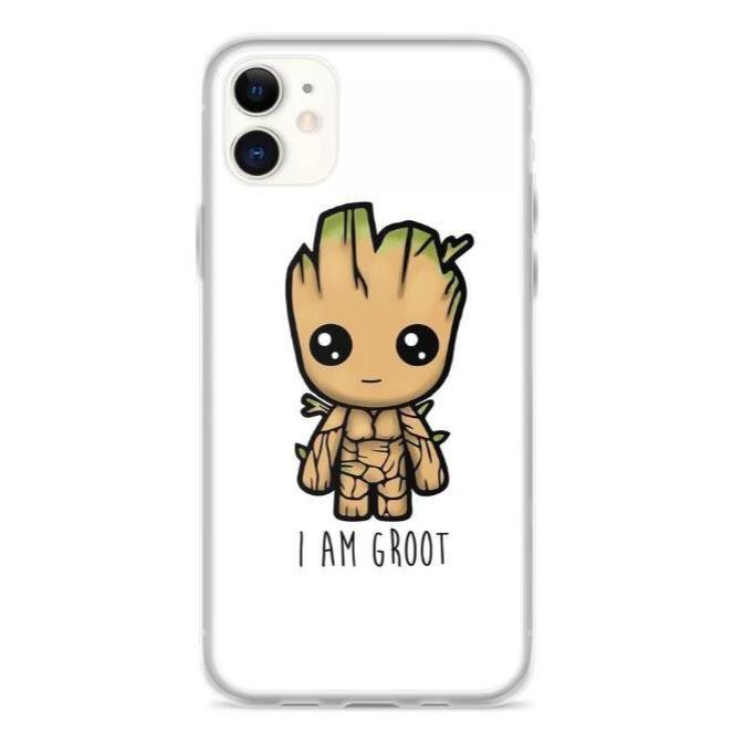 Coque iPhone 11 Pro Max - I am Groot - Baby Groot