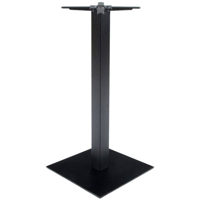 Pied de table de bar tahia noir cuisine electro bon for Pied de table cuisine