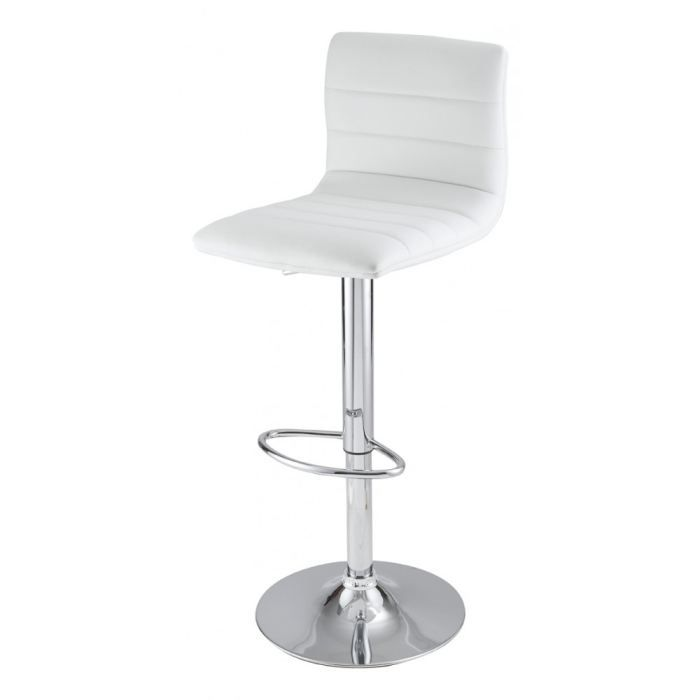 tabouret de bar blanc olivia achat vente tabouret de bar cdiscount. Black Bedroom Furniture Sets. Home Design Ideas