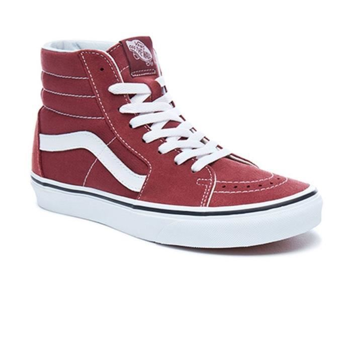 Baskets Vans SK8-HI Apple Butter/True white Bordeaux A38GEQ9S PH3vOkf
