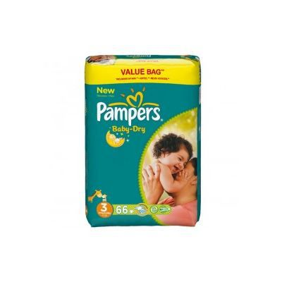 pampers couches baby dry taille 3 midi 4 9 kg achat. Black Bedroom Furniture Sets. Home Design Ideas
