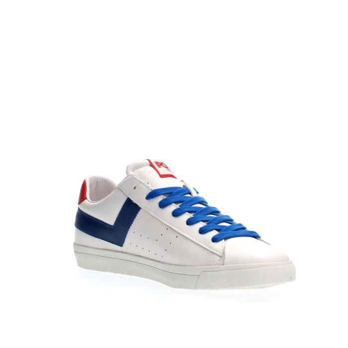 PONY SNEAKERS Homme WHITE RED, 44