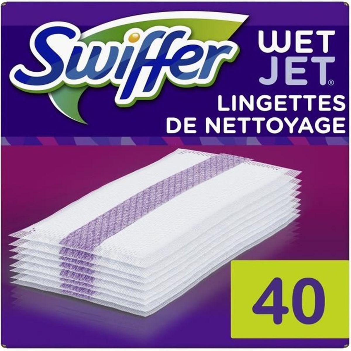 Swiffer Wetjet Balai Spray Recharges Lingettes Pour Tous