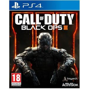 JEU PS4 Call Of Duty Black Ops III Jeu PS4