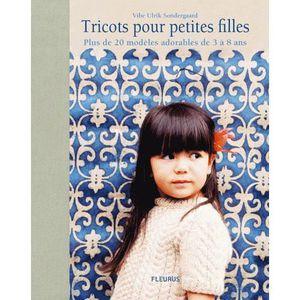 LIVRE LOISIRS CRÉATIFS Tricots pour petites filles