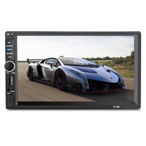 AUTORADIO Autoradio 7 pouces HD écran tactile Dual DIN voitu