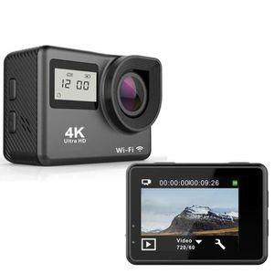 CAMÉRA SPORT Caméra de sport étanche 4K Caméra HD WiFi grand an