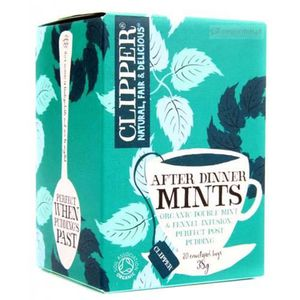 INFUSION Clipper Organic After Dinner Mints Double Mint Inf
