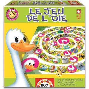 JEU D'APPRENTISSAGE EDUCA Neo Classique - Jeu De L´Oie