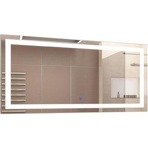 MIROIR SALLE DE BAIN Miroir lumineux LED salle de bain miroir rectangul