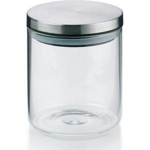 Leifheit antidérapante robuste en plastique transparent Pot Farine Sucre Sauce Cuisine